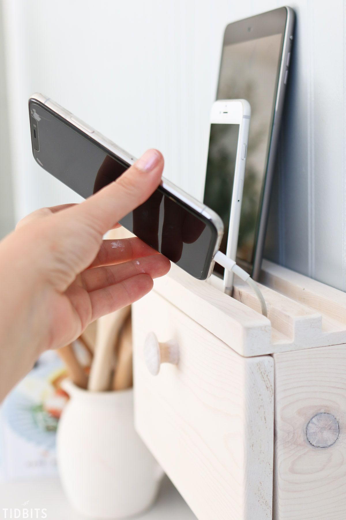 Diy Device Charging Station Charging Station Diy Diy Docking Station Charging Station