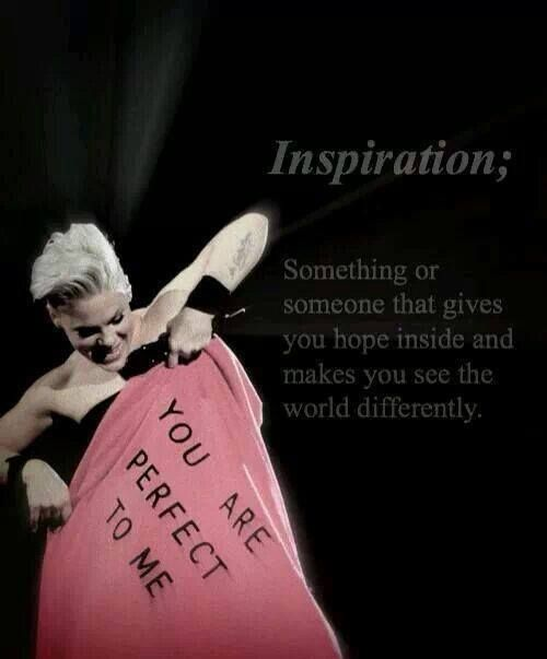 Perfectly P!nk(: she's perfect to me