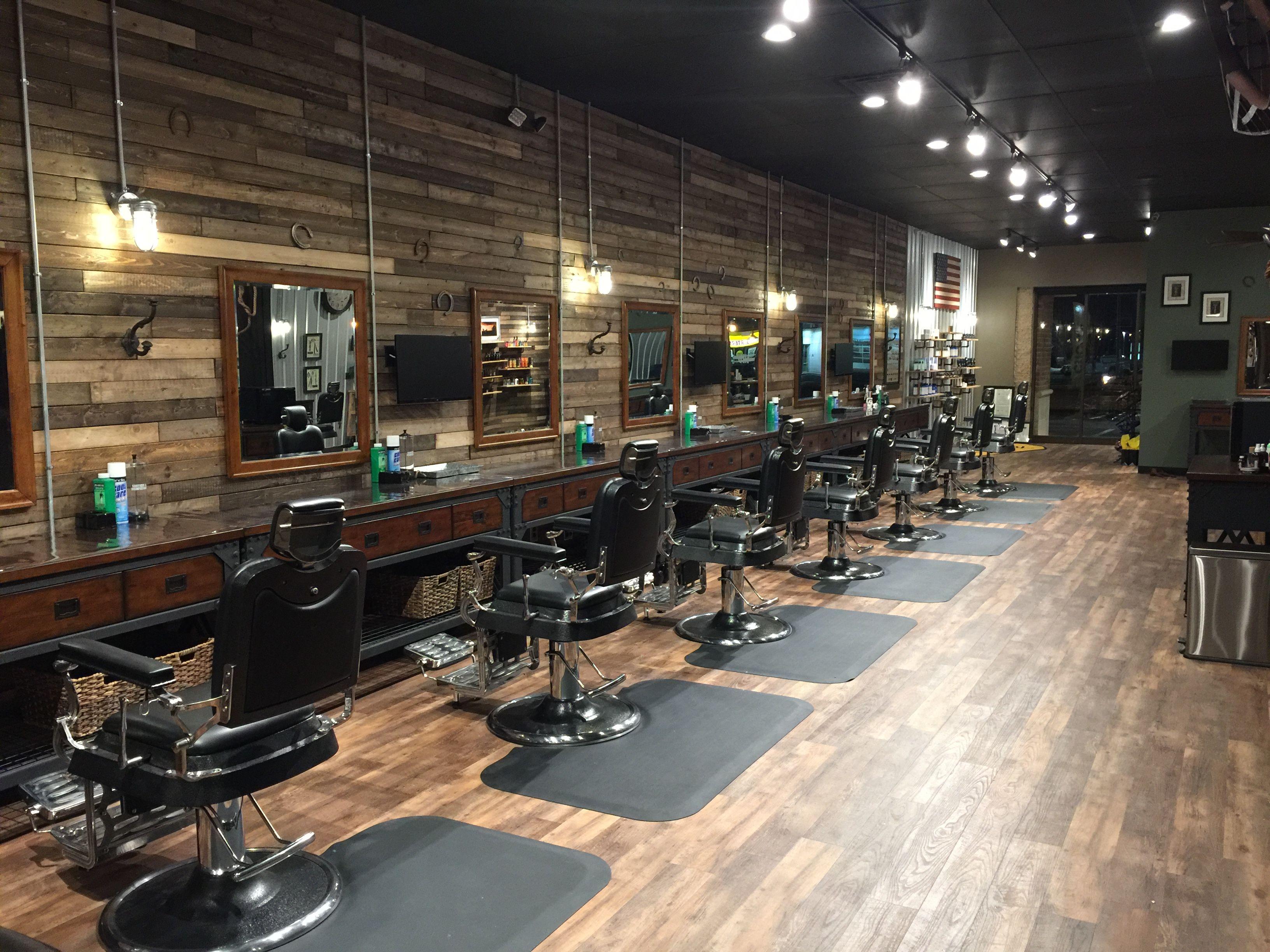 Barber Shop Barber Chairs Salon Barber Shop Decor Barber Shop