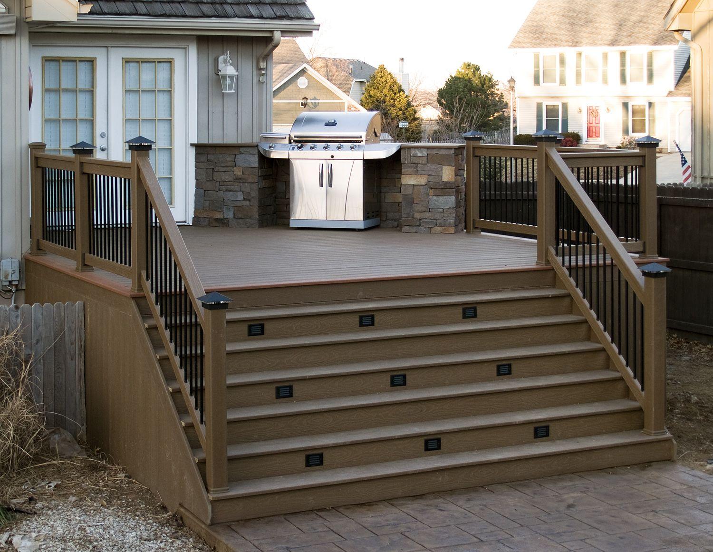 All Weather Decks 19 Time Winner Of Best Deck Builder In Kansas City Cool Deck Deck Design Plans Building A Deck