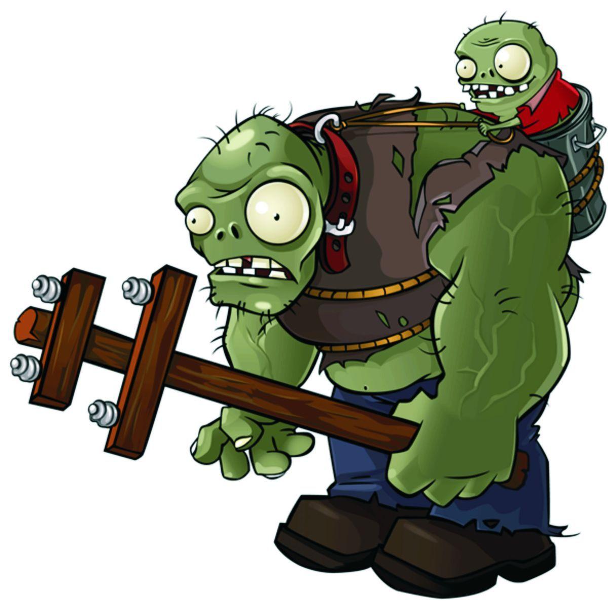 Gargantuar + Im | Porter in 2019 | Plants vs zombies, Zombie