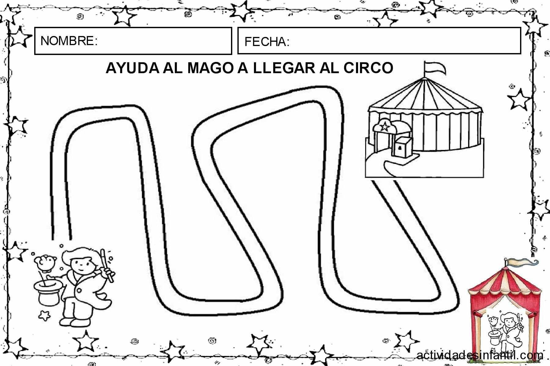 Dossier de trabajo: El circo de los magos (primera entrega) » Actividades infantil