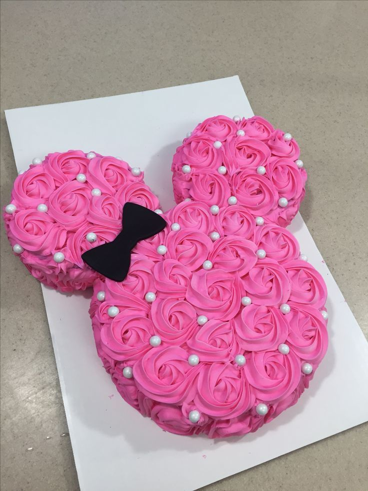 Minnie Mouse Cupcake Topper or Cake pop topper(12pcs) #minniemouse Minnie Mouse Cupcake Topper or Cake pop topper(12pcs) #mickeymousebirthdaypartyideas1st