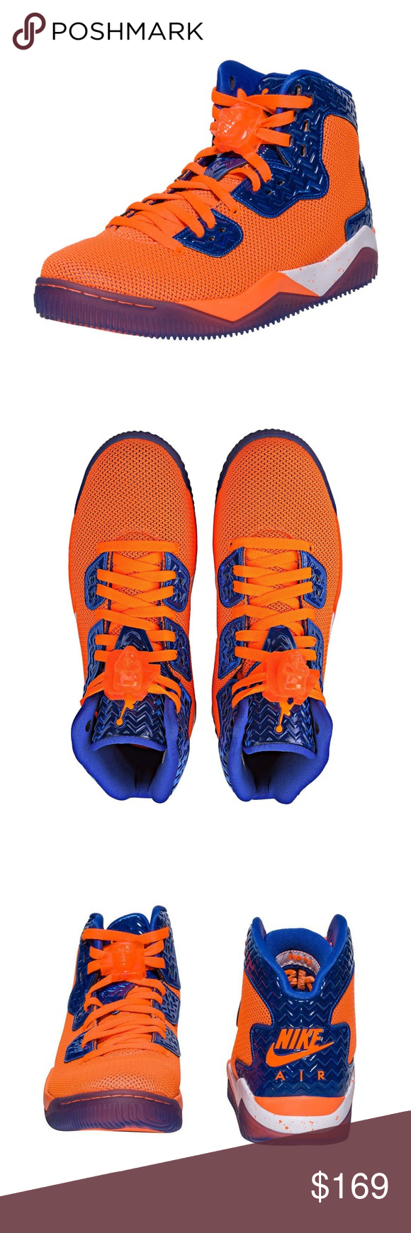 the latest 851b2 d2114 NEW Size 9.5 Nike Air Jordan Spike Forty NY KNICKS BRAND NEW without Box  RARE Nike