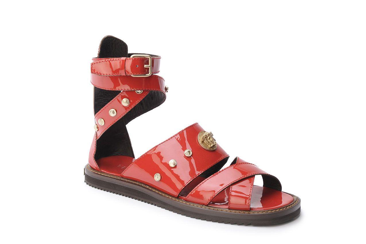 a8d61ad6e Versace Sandals for Men s Spring Summer 2012  red  versace  men  look   summer  sandals