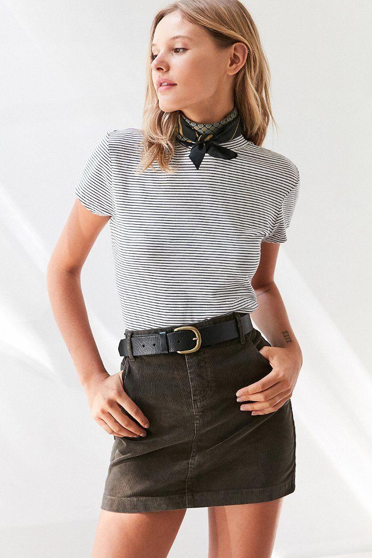 26ed442663 BDG Sybale Corduroy Mini Skirt   mini skirts in 2019   Fashion, Mini ...