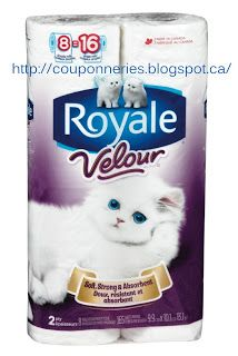 Coupons et Circulaires: ** 1,99$ ROYALE Velours **