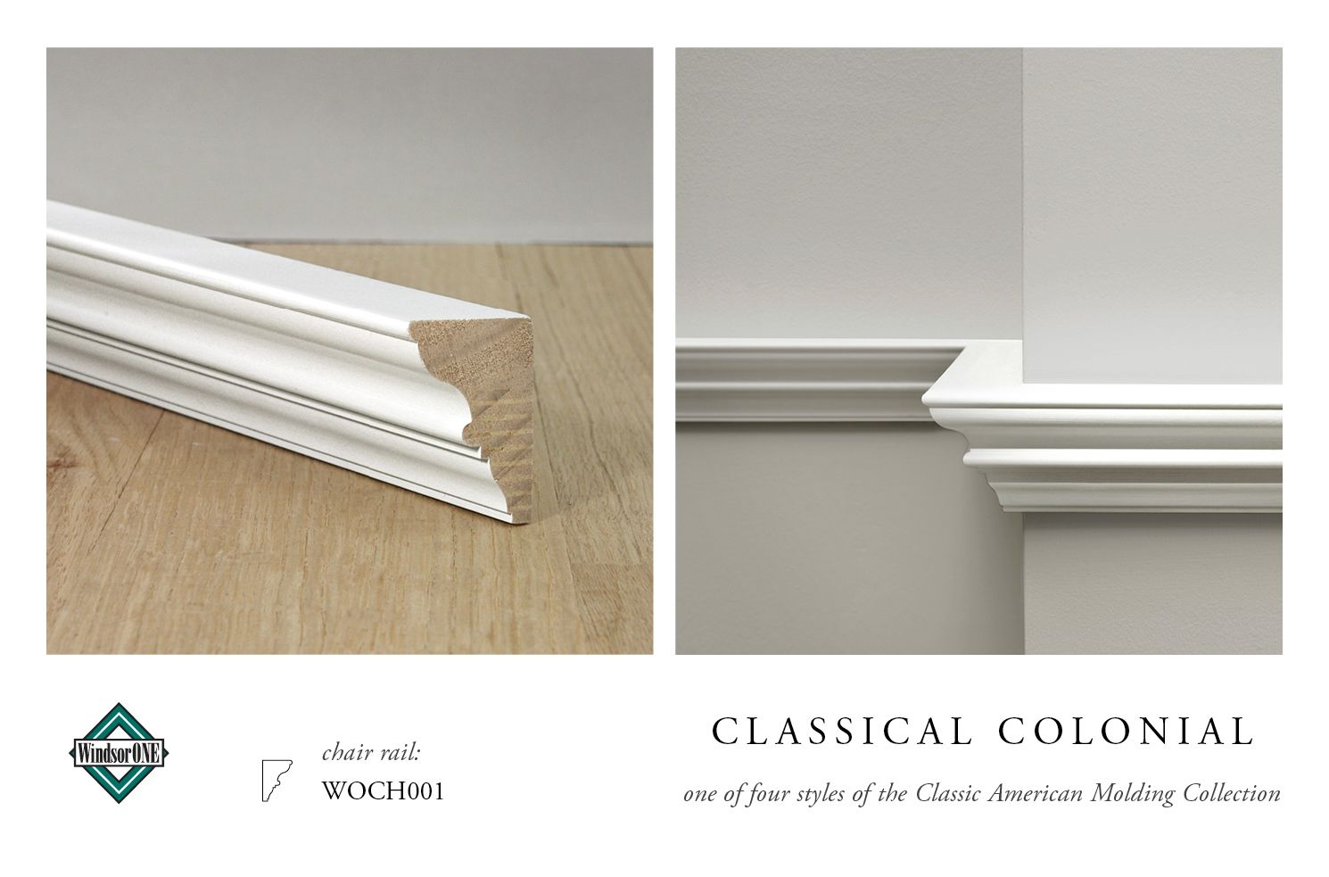 Classical Colonial Moldings, 8th century style  WindsorONE