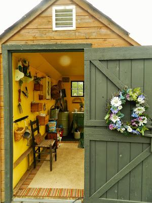 Garden Shed Interior Ideas Storage