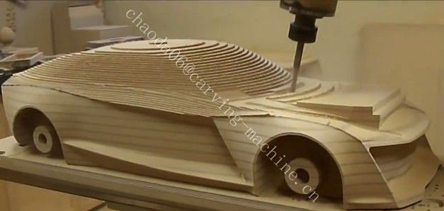 5 Axis Wood Router