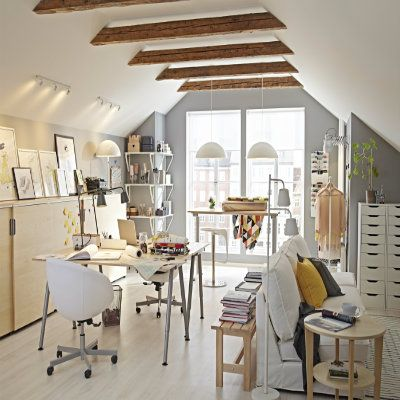 Using GALANT makes coordinating a home office for two easy