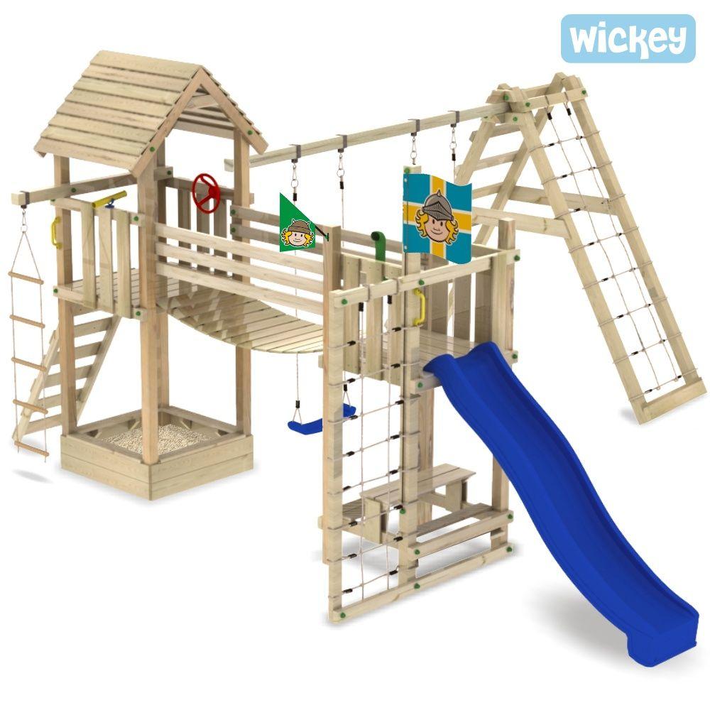 Spielanlage Wickey Lost Jungle Neue Kombination Spielturm Kinder Spielzeug Garten Diy Spielplatz