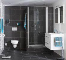 Kleine badkamer future home pinterest kleine badkamer badkamer en badkamers - Badkamers bassin italiaanse design ...