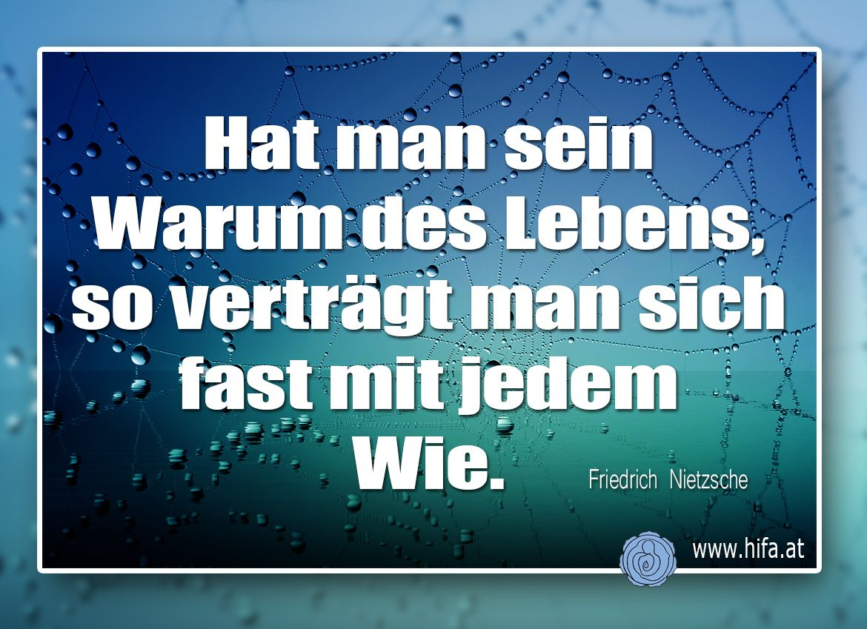 Hat Man Sein Warum Des Lebens So Vertragt Man Sich Fast Mit Jedem Wie Friedrich Nietzsche Soforthilfe Https W Zitate Zitate Nachdenken Deutsche Zitate