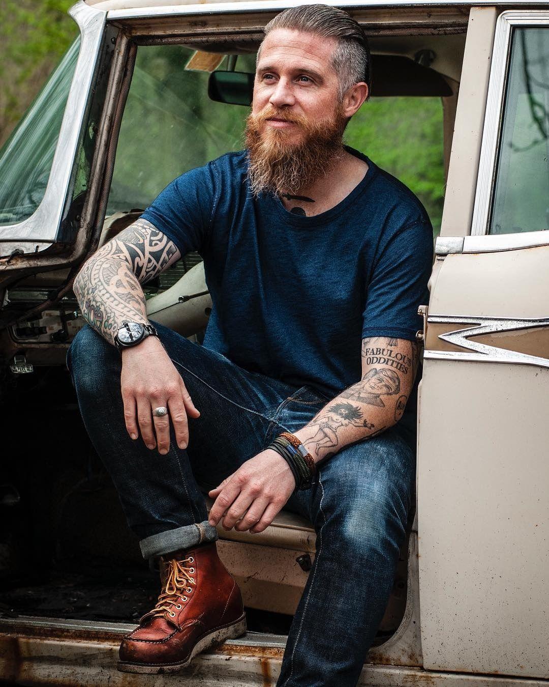 Beardy bloke awesome beards beard mens street style