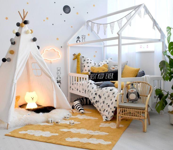 Hausbett Zimmer in Senfgelb bei Fantasyroom online kaufen
