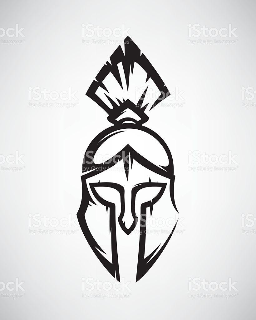 Spartan helmet Beach tattoos Pinterest Tattoos Spartan helmet