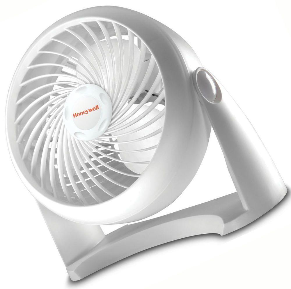 b05a55089e4 Superior Quality White Turbo Fan Honeywell Table or Floor Fan 11 Inch   Honeywell