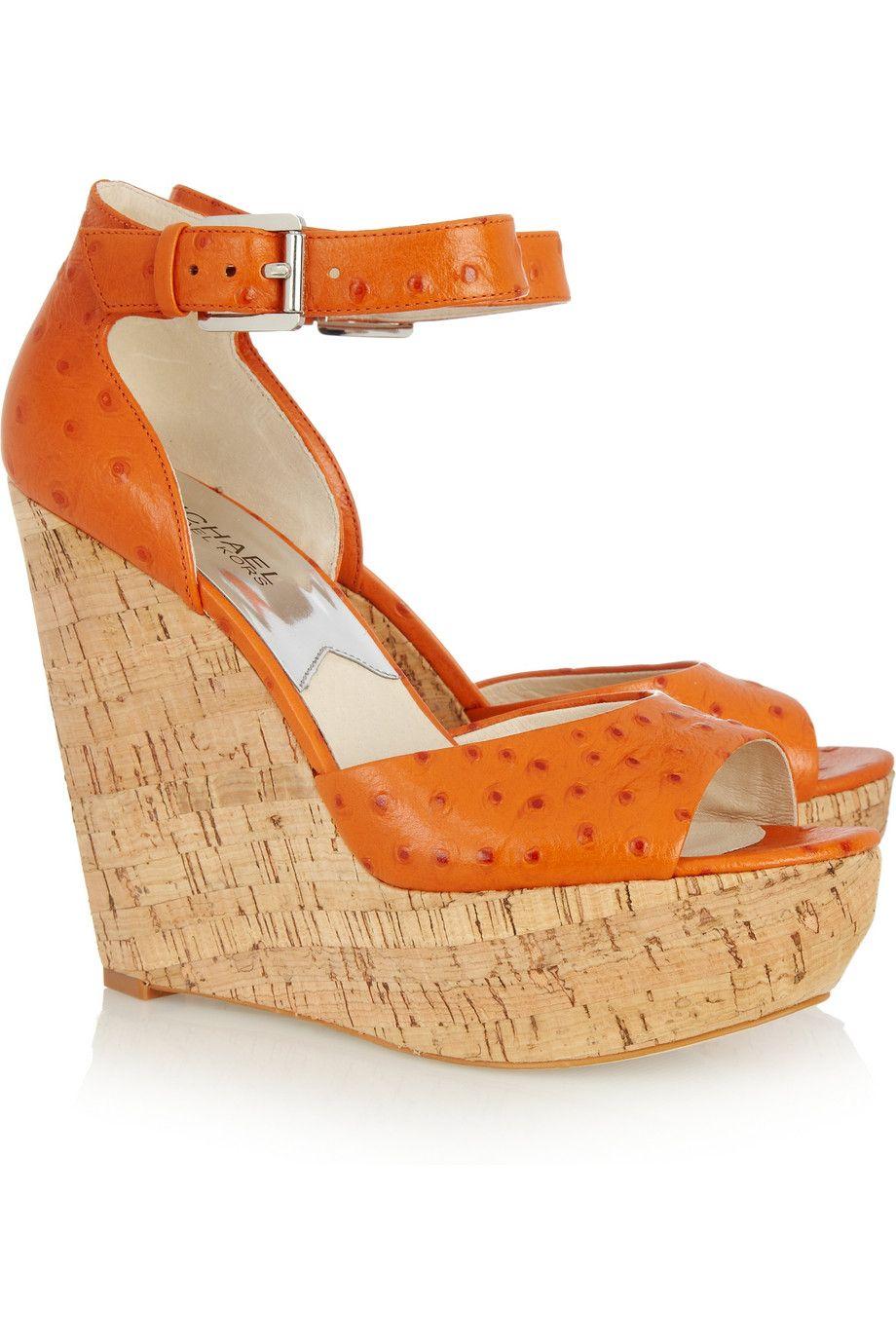 Näille Michael Korsin Ariana-wedgeille tekisin mielelläni tilaa kenkäkaappiini.