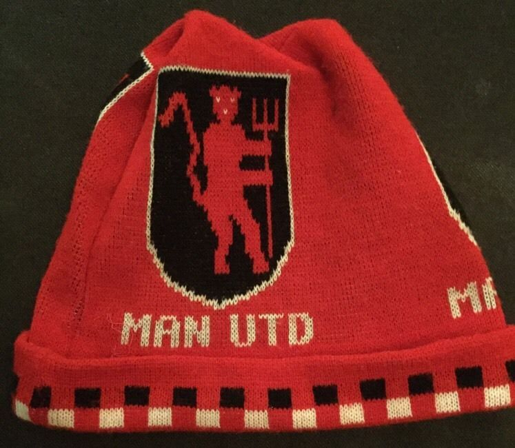 manchester united vintage 1980 s ski hat from  7.13  3aa01008c3ac