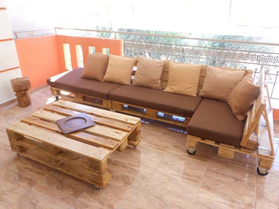 Reciclaje ideas para el jardin pinterest reciclaje for Muebles terraza palets madera