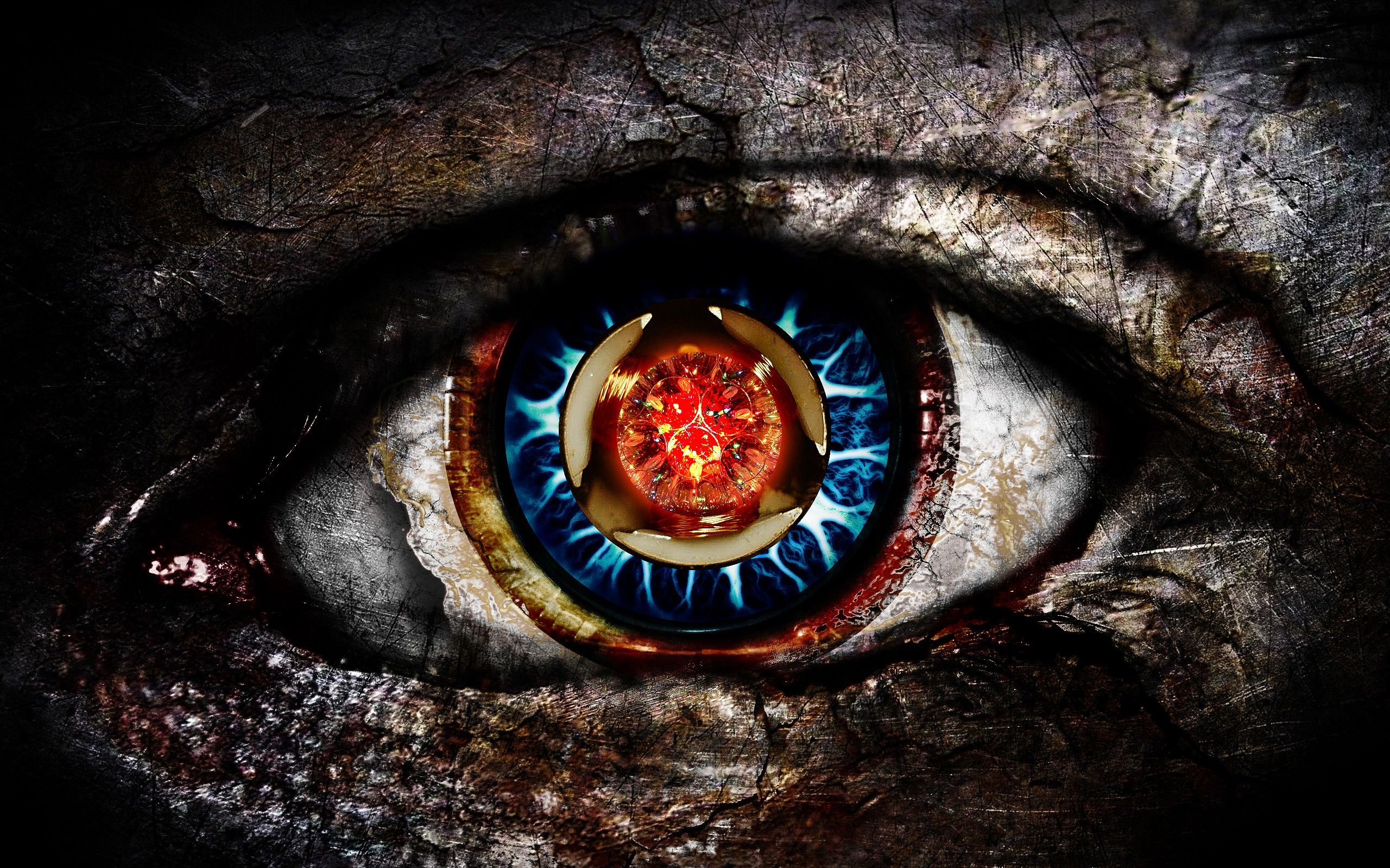 Hd wallpaper art - Wallpapers Digital Art Eyes Artwork Hd 2560x1600