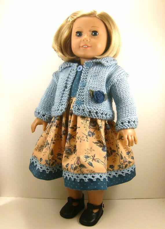 18 Inch Doll Clothes American Girl Medium Blue by dressurdolly2 ...