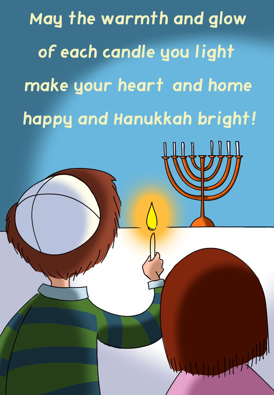 Massif Printable Hanukkah Cards
