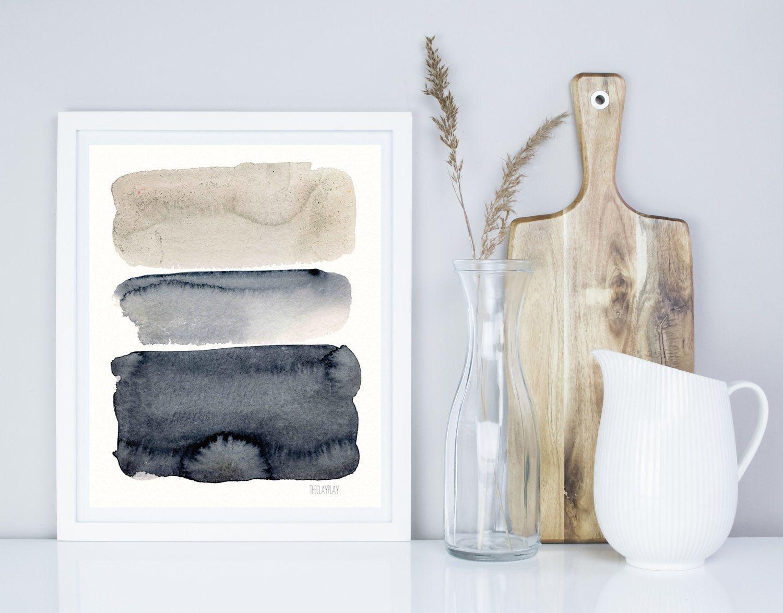 Obras de arte abstracto por annemette klit pintura del for Minimal art resumen