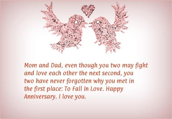30 Lovely Wedding Anniversary Quotes For Parents