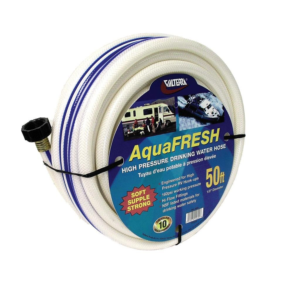 Aquafresh High Pressure Drinking Water Hose 1 2 X 50 White In 2019 Products Water Hose Drinking Water Water