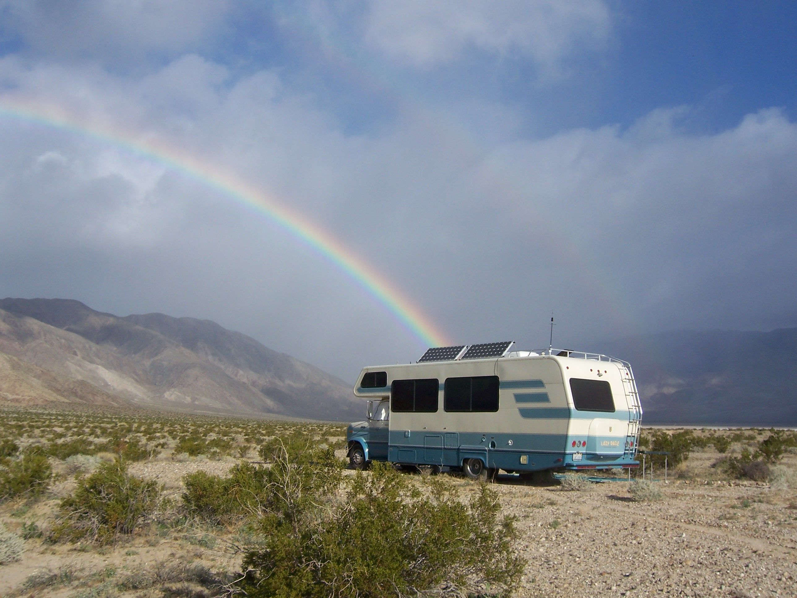 A pot of RV gold at the end of the rainbow #rainbow | House ... Rainbow Mobile Homes on school bus mobile home, breeze mobile home, tiffany mobile home, hippie mobile home, galaxy mobile home, snow mobile home, desert mobile home, bad mobile home, run down mobile home, purple mobile home,