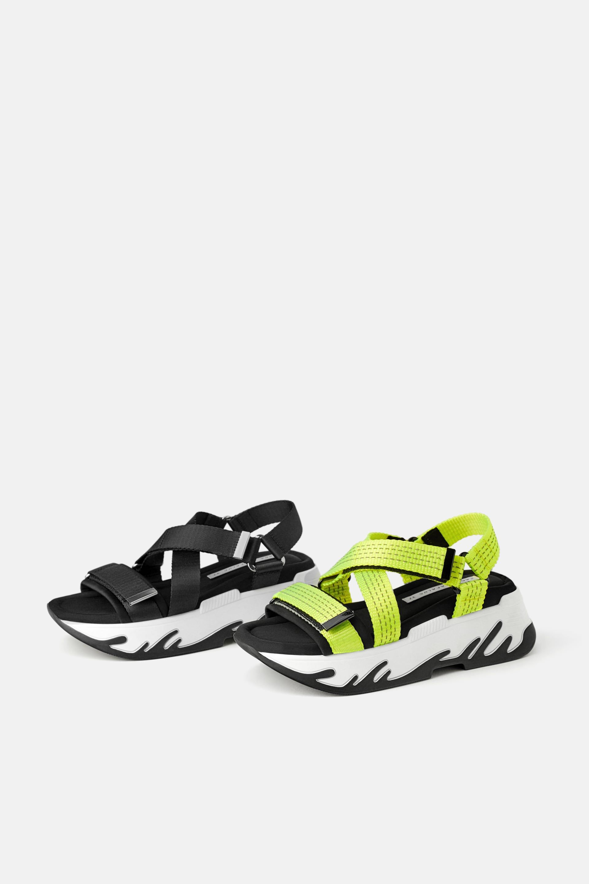 c1435c00422 Image 6 of ATHLETIC PLATFORM SANDALS from Zara