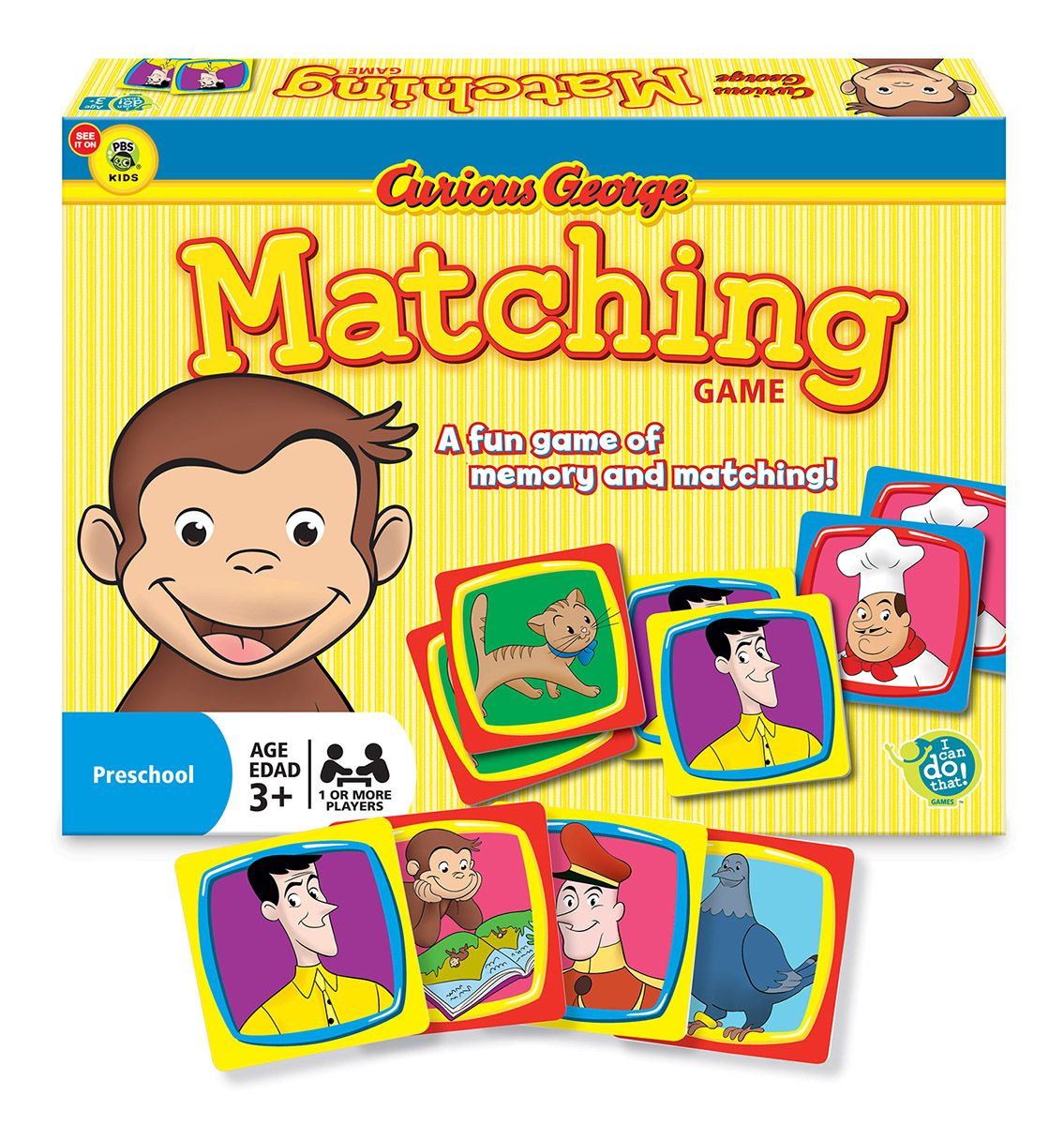Curious George® Matching Game Movies / Books / TV