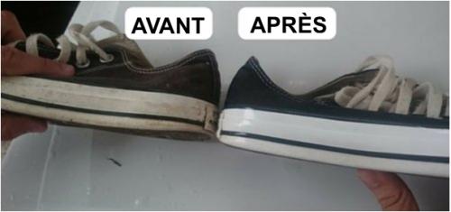 5 astuces pour pour blanchir les chaussures blanches pratique. Black Bedroom Furniture Sets. Home Design Ideas