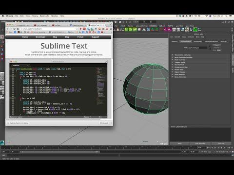 Installing Sublime: Great Txt Editor For Maya (for mel and python