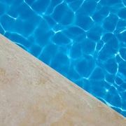 How To Stain Concrete Around A Swimming Pool Hunker Pool Stains Painted Pool Deck Pool Paint