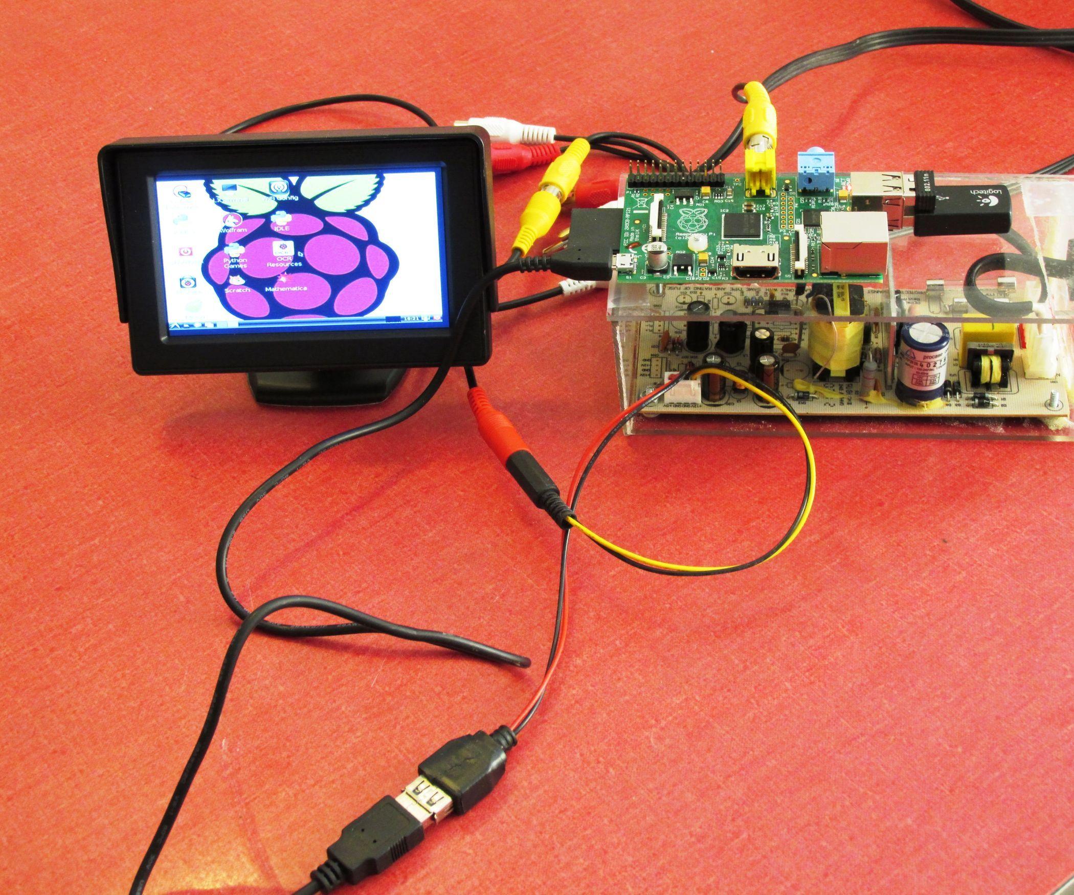 Log Raspberry Pi With Car Monitor Raspberry Raspberry Pi