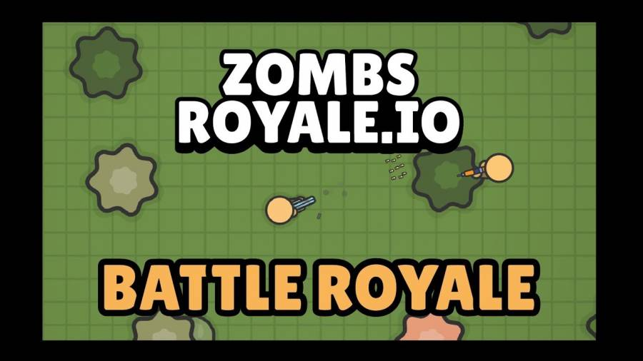 100 player 2D realtime massive multiplayer Battle Royale