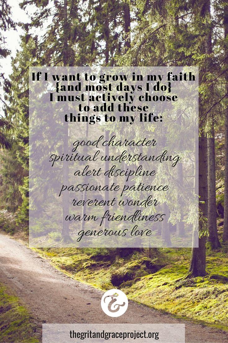 God is always growing us. Always. Lean in and let Him work. #gritandgracelife #gritgraceandGod