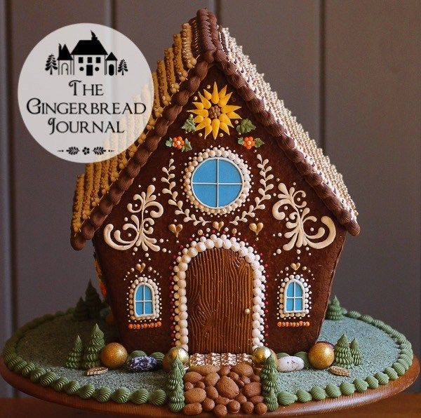 The Harvest House – a Gingerbread Thanksgiving