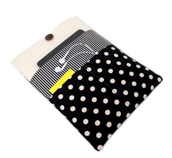 Polka Dot Macbook 13 inch Macbook Pro Case Pro by LOONdesigns