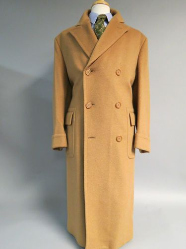 J Press camel hair polo coat.