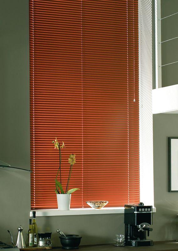 #venetian #blinds #kitchen  http://www.blindsuk.net/venetianmm/arena-russet.html