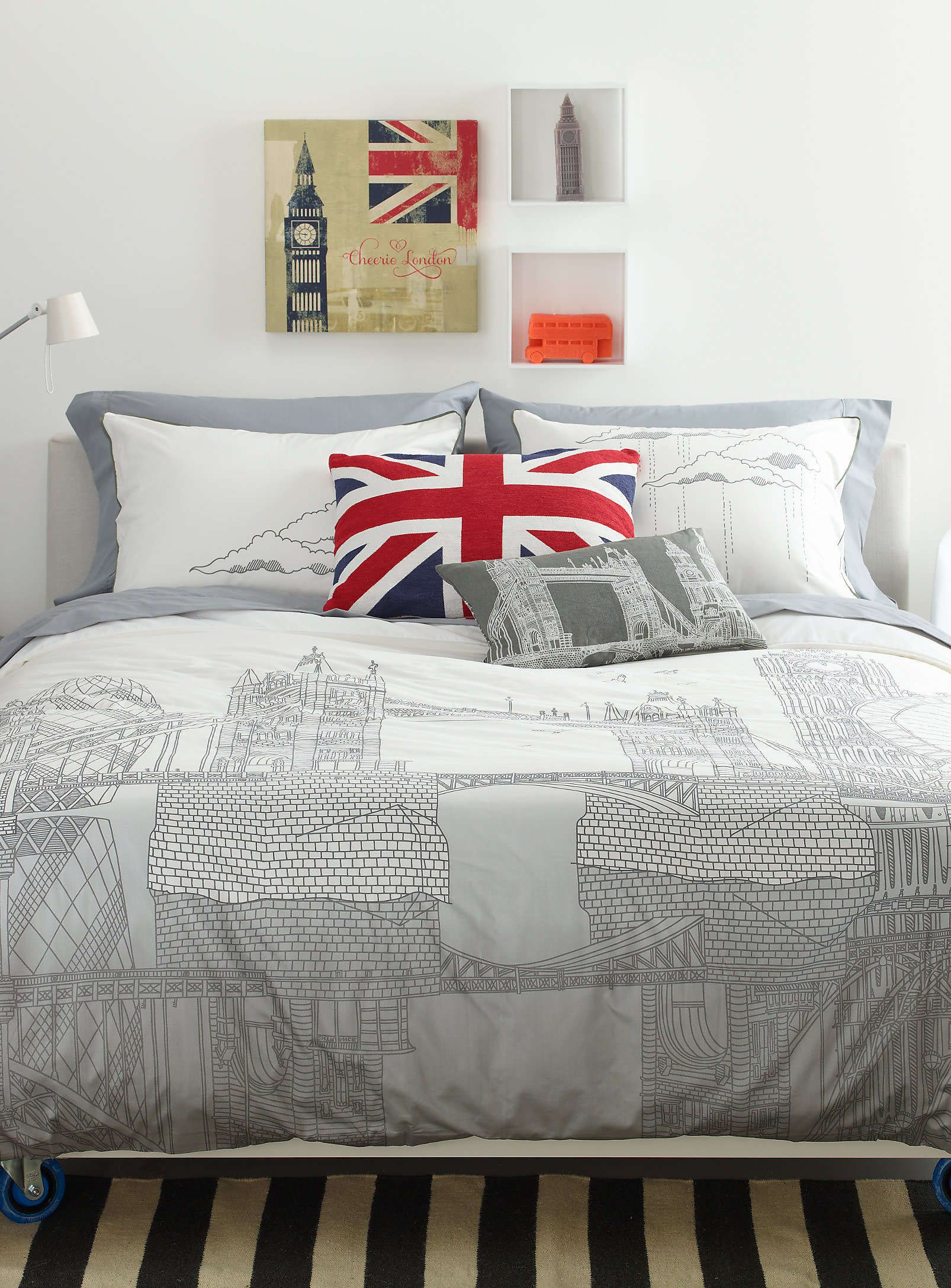 London Trip Duvet Cover Set  Duvet Covers & Comforters