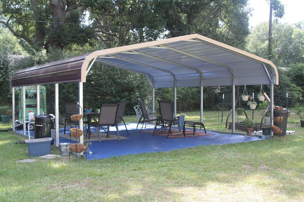 My new outdoor room Outdoor rooms, Carport patio