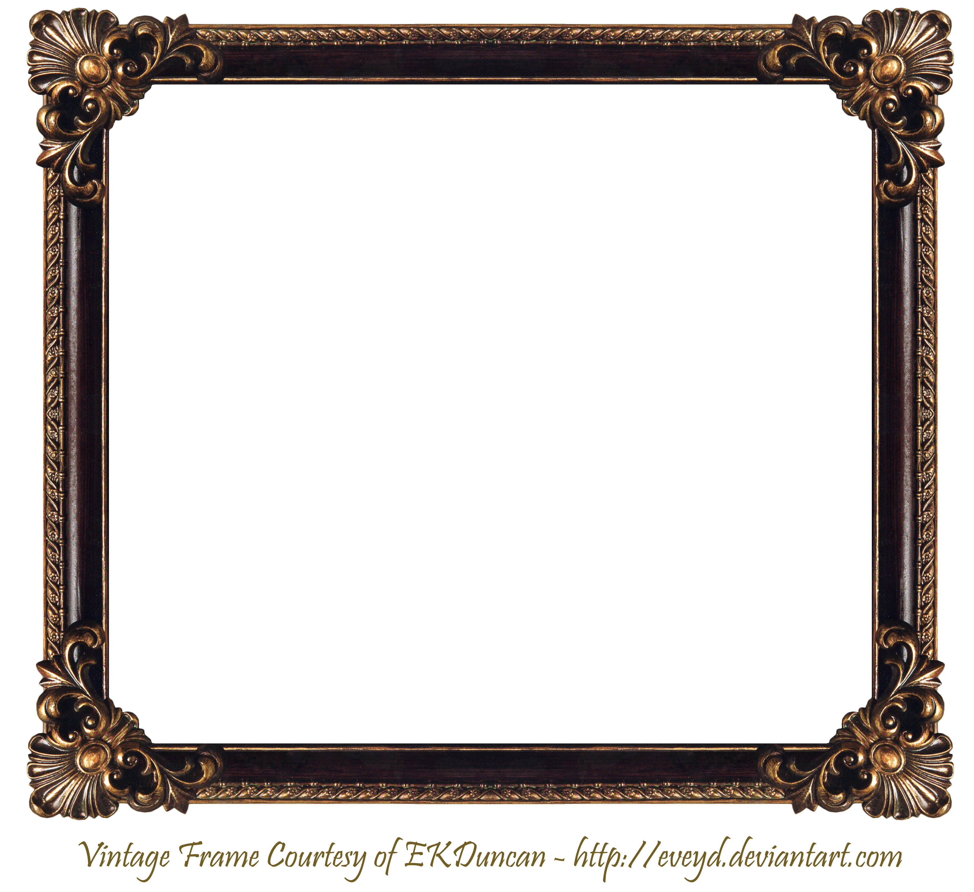 Elaborate Wood Frame By Ekduncan By Eveyd D50td7q Png 3298 3020
