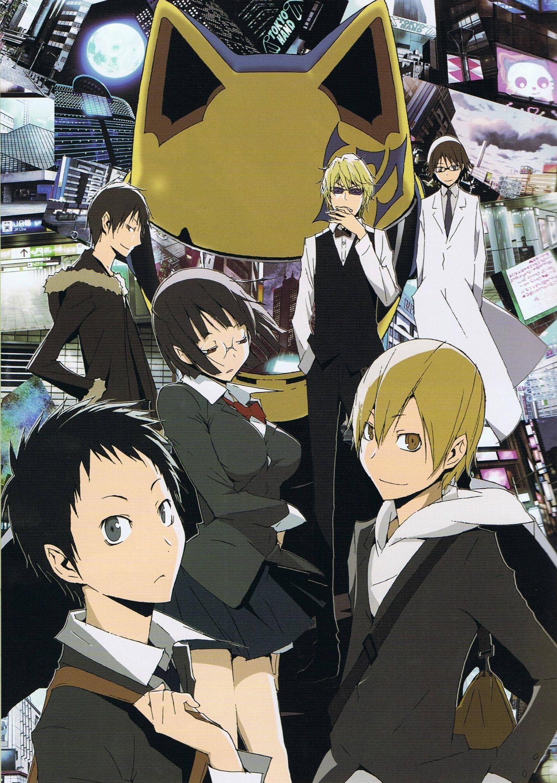 7 Anime Like 'Durarara!' Durarara, Anime, Anime shows