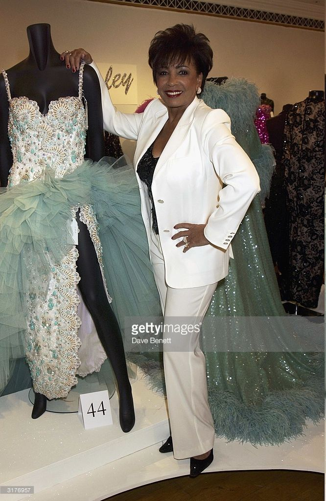 British singer Dame Shirley Bassey attends Christie's Auction House prior the the sale of a colletion of her ballgowns on September 17, 2003 in London.