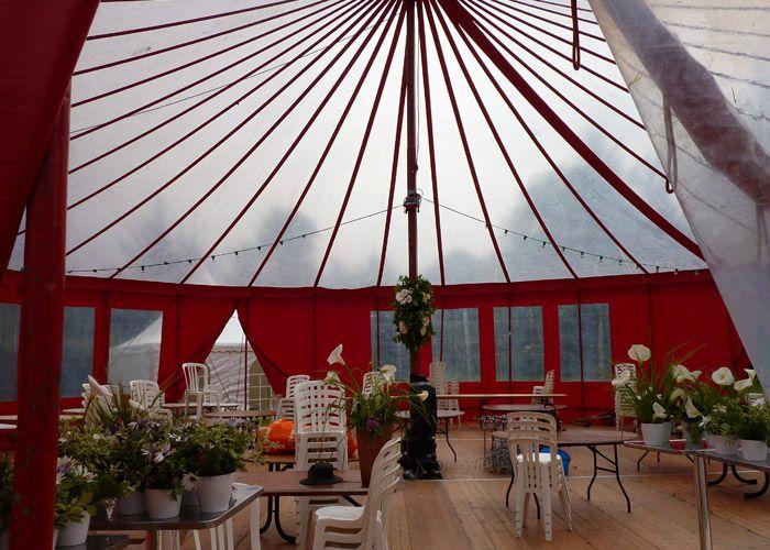location vaisselle chapiteaux tente barnum pour mariage landerneau brest - Location Chapiteau Mariage Nord